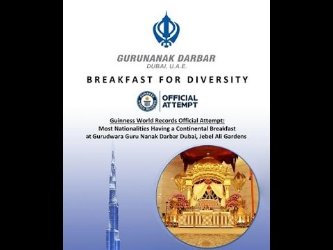 Breakfast for Diversity Dubai|Guests from Various countries|LIVE|