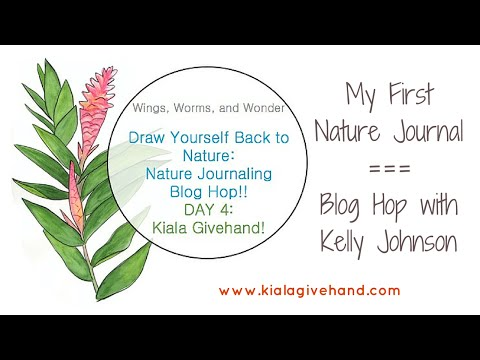 Nature Journal - Wings, Worms, & Wonder Blog Hop