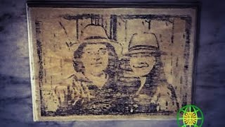 Transferir una imagen a madera con elementos caseros / Transfer a picture to wood with household