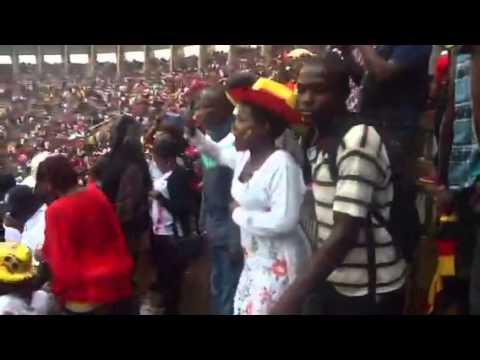 Uganda beat Ghana at Namboole.
