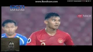 Timnas U19 VS Chinese Taipe U19  ( Babak Pertama )