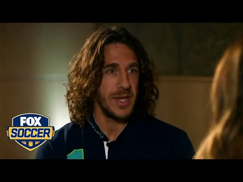 Barcelona legend Carles Puyol talks about Luis Enrique and MSN  FOX SOCCER