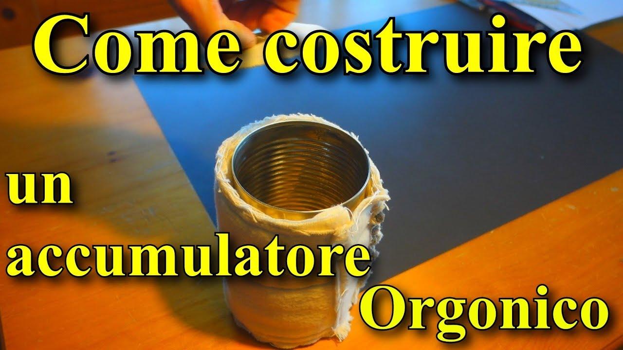 Costruzione di un piccolo accumulatore orgonico