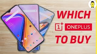 OnePlus 7 Pro vs OnePlus 7 vs OnePlus 6T: which one to buy?