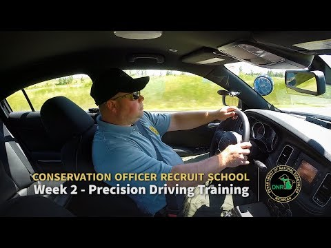 Precision Driving Training - Week 2: Michigan Conservation Officer Recruit School 8 (2017)