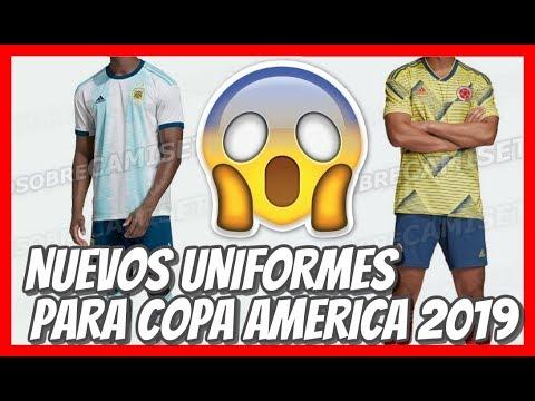 COPA AMERICA 2019 🔴 Nuevas camisetas - 동영상