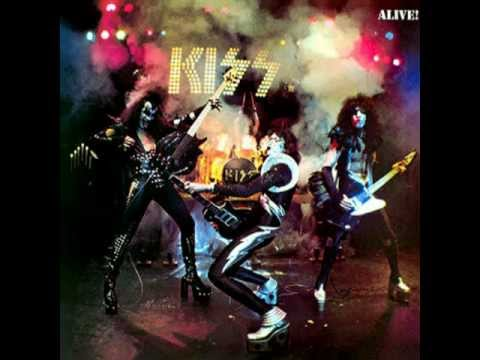 KISS - C'Mon' and Love Me - Kiss Alive Version 1975