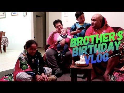 BROTHER'S BIRTHDAY VLOG   ElenTuf Vlogs 2K18