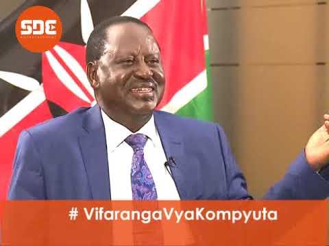 Raila Odinga explains how he arrived at