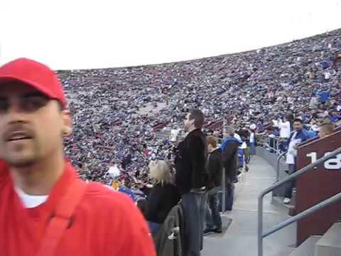Dodgers vs Red Sox at LA Coliseum