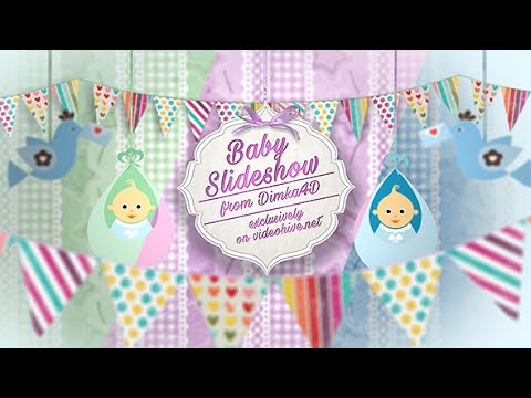 Baby Slideshow | After Effects template