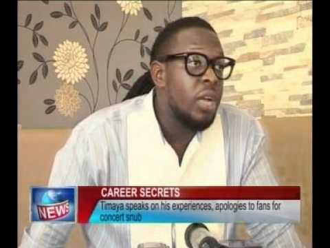 Timaya speaks on his experiences
