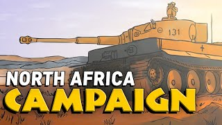 The North African Campaign | Animated History
