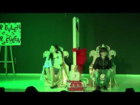 RUMUZ GONCAGÜL- Sınav Koleji Ortaokul Tiyatro Gösterisi 08.06.2017 (Oyuncu: Lara K, İnsaf Hanım )