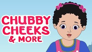 Chubby Cheeks And Many More | Popular Nursery Rhymes Collection | English Rhymes | Amulya Kids