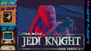 Star Wars JEDI KNIGHT (1997) Level 2, 3DFX Voodoo 2 - BAD FMV - Retro GP