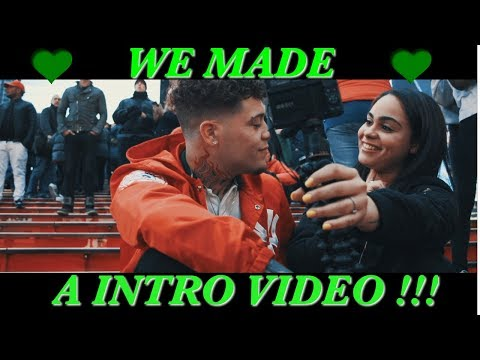 WE MADE OUR INTRO VIDEO!!!