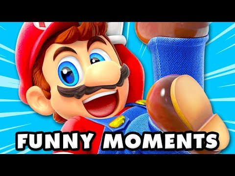 Super Mario Party Funny Moments Montage!