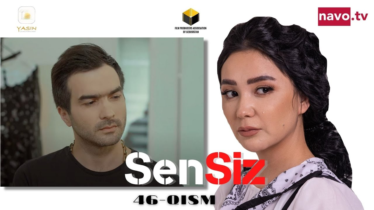 Sensiz (o'zbek serial) 46-qism trailer   Сенсиз (ўзбек сериал) 46-қисм онлайн томоша килиш