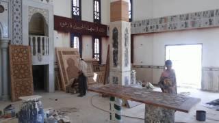 مشاهد من مسجد قناة السويس الجديدة  قبل أفتتاحه يوليو 2015