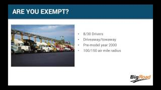 ELogs, AOBRDs, and ELDs  What's the Difference