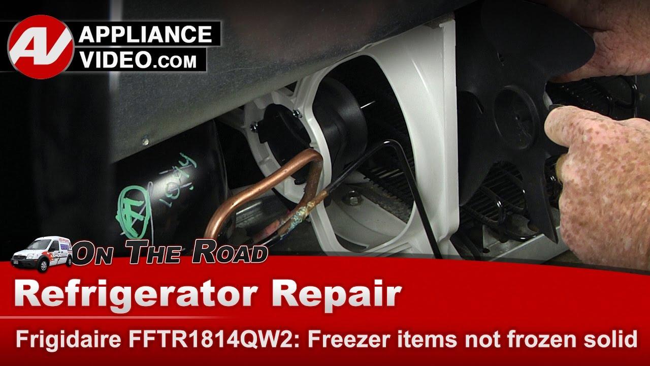 Frigidaire Electrolux Refrigerator And Freezer Not Cooling Repair Diagnostic You