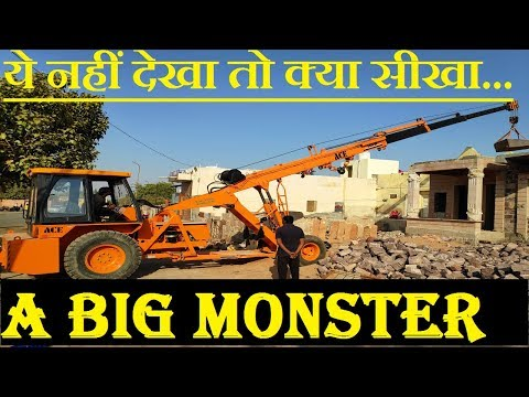 ये नहीं देखा तो क्या सीखा...HOW TO DRIVE OR OPRATE THIS MONSTER HYDRA MACHINE IN CONSTRUCTION