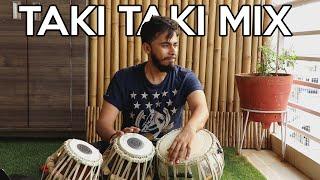 TAKI TAKI- DJ SNAKE, SELENA GOMEZ, OZUNA, CARDI B | TABLA MIX