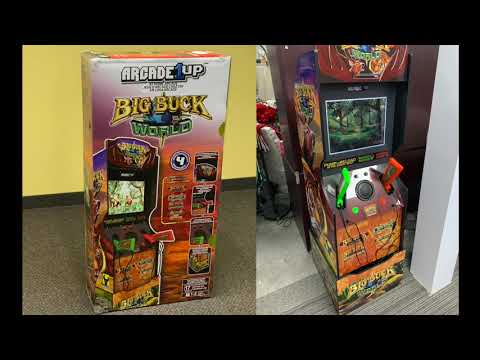 Arcade1up Big Buck Hunter World - First Live Overview! from Buy Stuff Store