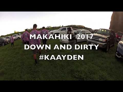 Makahiki Challenge 2017 Down & Dirty #KaayDen
