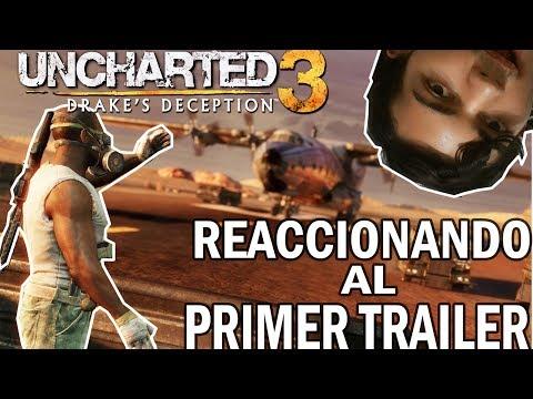 REACCIONANDO Al Primer Trailer Del MULTIJUGADOR DE UNCHARTED 3