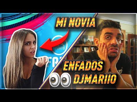 MI NOVIA reacciona a LOS LLOROS de DJMARIIO por PRIMERA VEZ