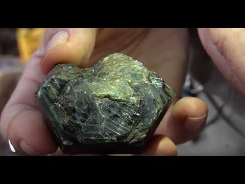 Sapphire mining around Chanthaburi (Thailand)