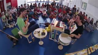 Concert jeune public - Pascal Ayerbe & Cie - Petit orchestre de jouets en création