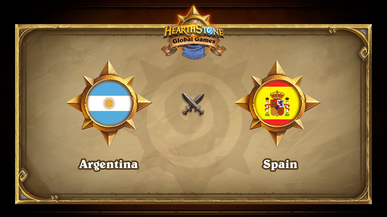 Argentina vs Spain, Hearthstone Global Games Group Stage
