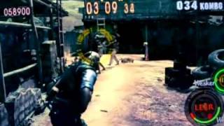Resident Evil 5 Multiplayer Co-op Gameplay