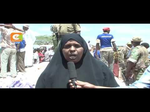 Ahadi Kenya Trust donate ambulances in Mandera