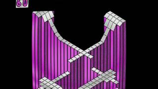 Marble Madness (PC) - CGA