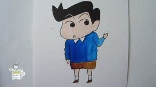 Kazama, at least one of shin chan's friends who's sane! He's smart ...