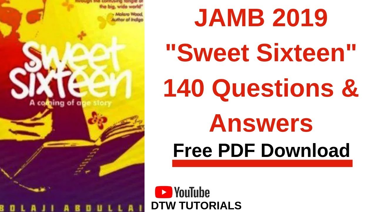 Jamb Past Question Pdf