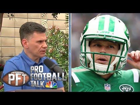 Jets' Adam Gase excited to help develop Sam Darnold | Pro Football Talk | NBC Sports