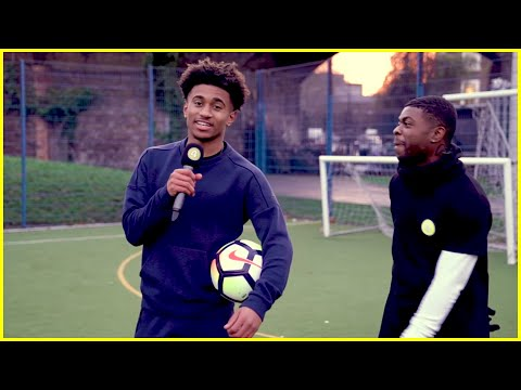 ALL EYES ON REISS NELSON: TOUCHES, SKILLS, AND BANTER! EPIC GOAL!