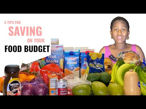 Five tips for saving on your FOOD BUDGET// NO TO COUPONS