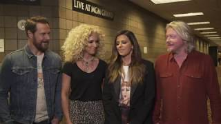 Little Big Town Rehearses for the 54th ACM Awards Video