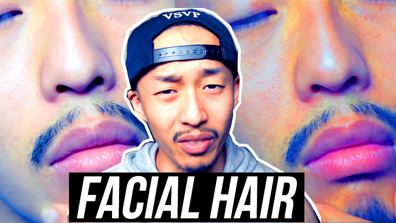 do asians grow facial hair