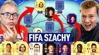 FIFA 19 | NIESAMOWITE SZACHY O KARTY 91+ Z KOZĄ! *MEGA RAGE* 😠😠😠