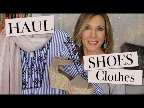 Spring Clothes Shoes Accessories Haul!