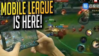 League of Legends MOBILE Gameplay - ALL THE LEAKS