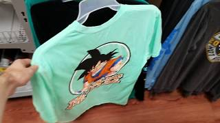 Surprise Dragon Ball T Shirt Wal-Mart Target JC Penneys