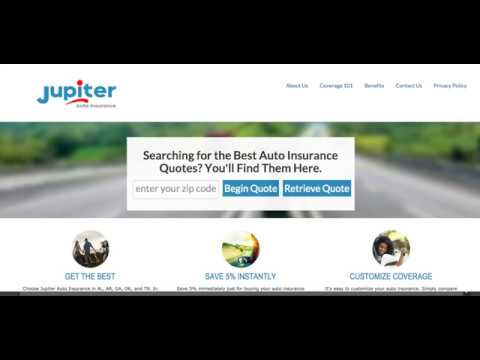Jupiter Auto Insurance: Quote Flow
